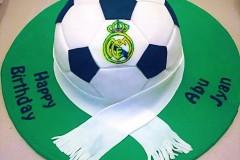 A football themed Birthday cake in Toronto
