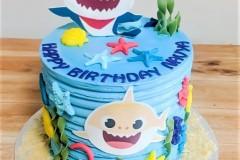 A cartoon themed Birthday cake in Toronto