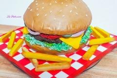 burger- Birthday cake in Toronto