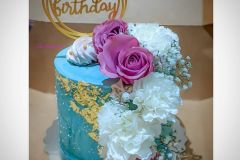 Posh little Birthday Cake