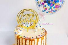 salted-caramel Birthday Cake