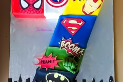 superheroe Birthday Cake