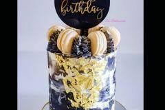 vanilla-cake Birthday Cake